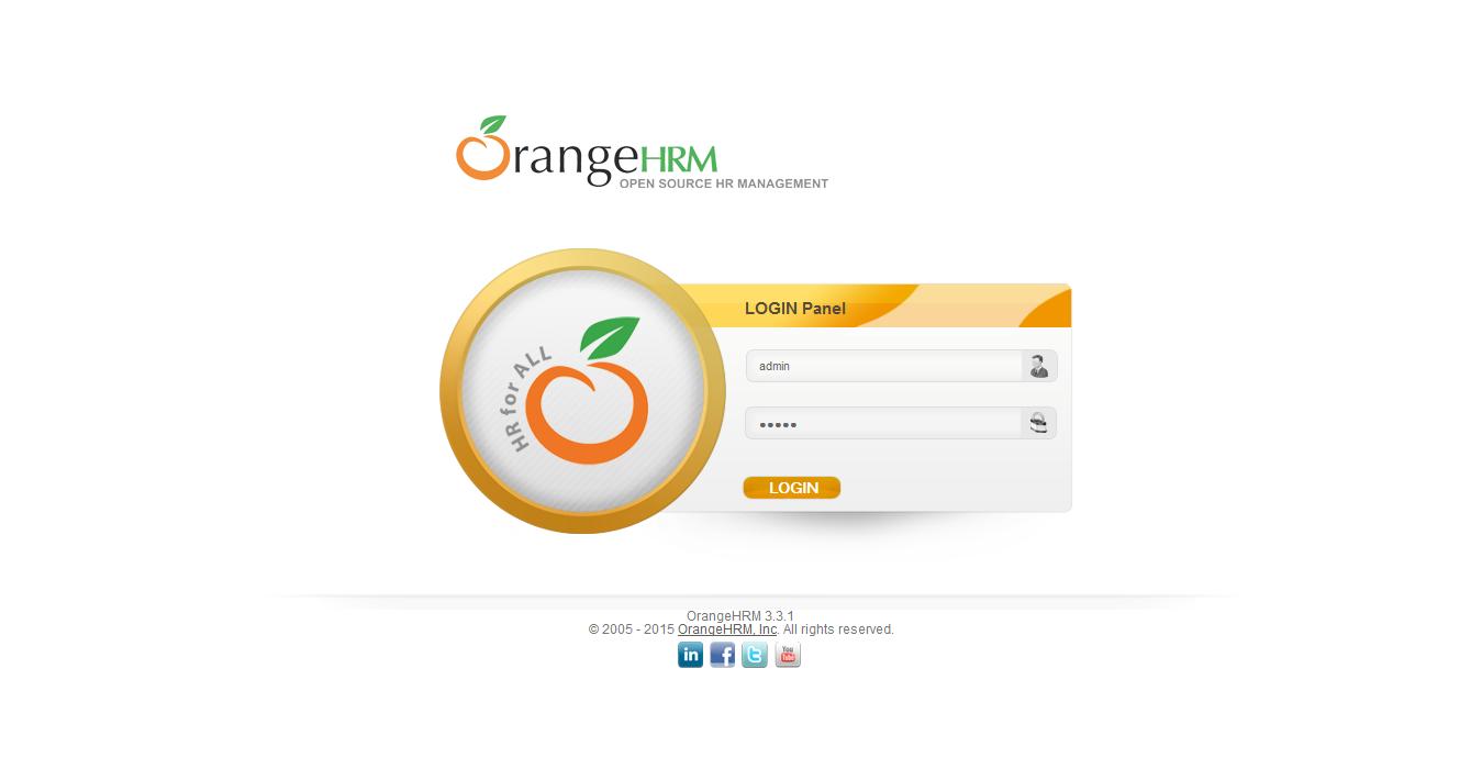 OrangeHRM Modules